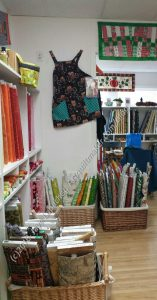 Sugar Pine Quilt Shop, Interior