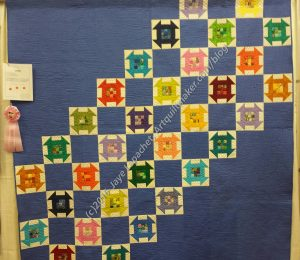 Untitled by Juna Carle (quilted by Theresa Silva)