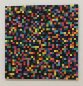 Spectrum Colors Arranged by Chance, 1951-53 by Ellsworth Kelly