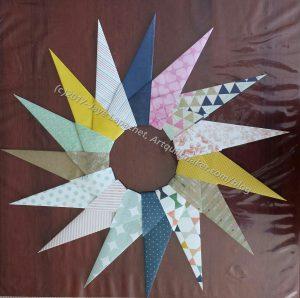 Paper Wreath n.5