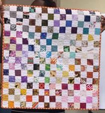Donation quilt - Erin's finish