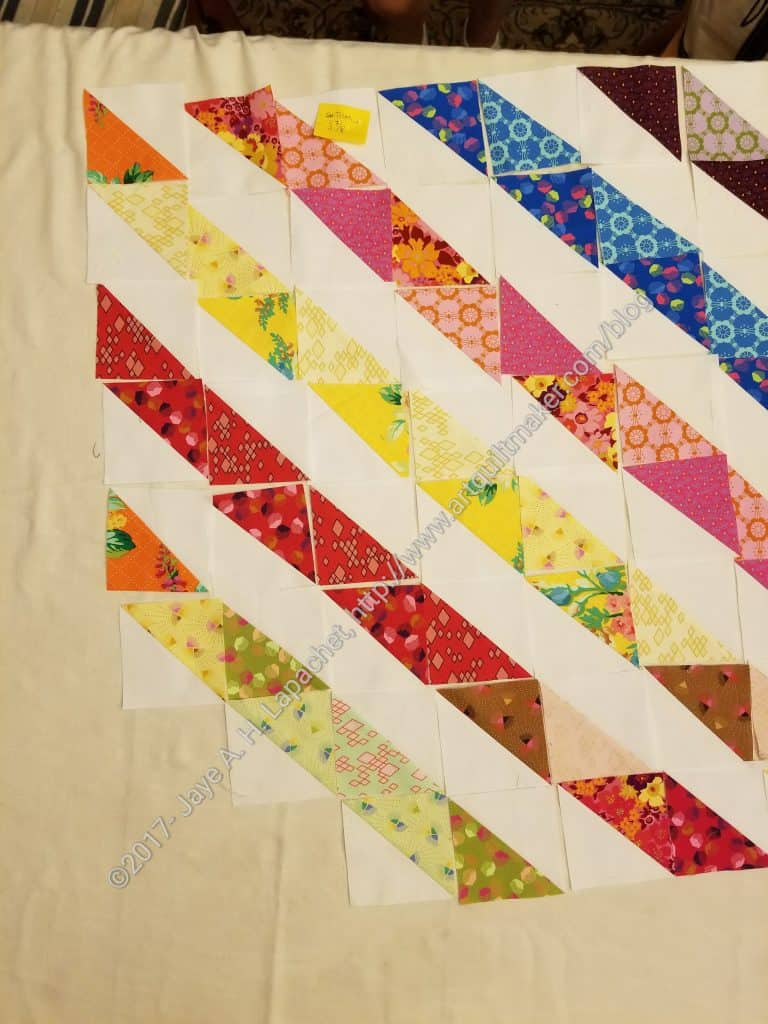 Gradated stripes