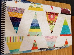 Reminds me of Renewed Jelly Roll Race Quilt