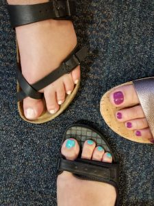 Informal Pedicure Challenge