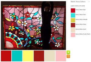 Leaded Glass - palette n.1-Kona