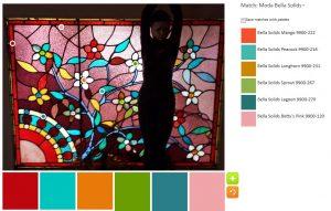 Leaded Glass - palette n.2
