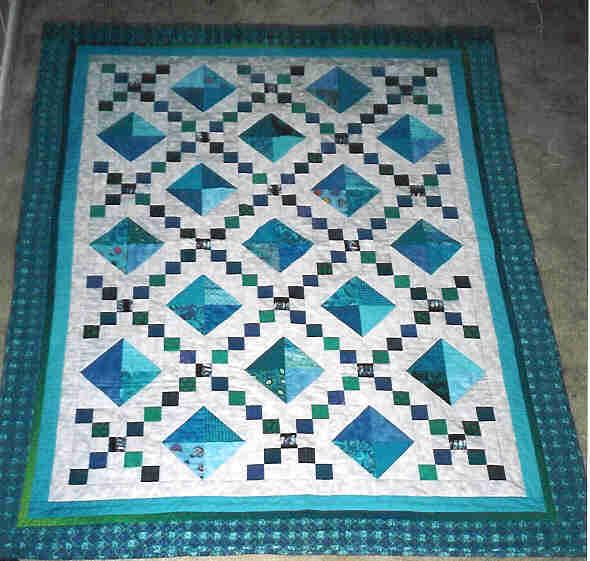 Diamond Chain Artquiltmaker Blog