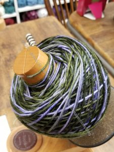 Lichen Yarn wound