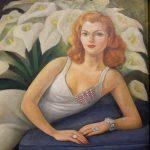 Diego Rivera Portrait of Natasha Zakolkowa Gelman detail