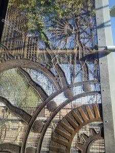 Light rail art - Phoenix
