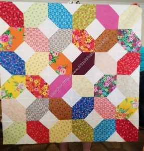 Mostly Manor Lozenge Quilt