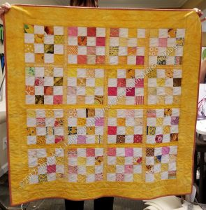 Yellow Donation Quilt