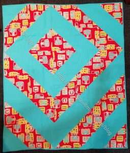 Quillow Bag quilt for guild officers 2018