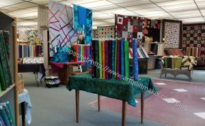 Pine Needle Quilt Shop - middle of store