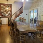 Pioneer Quilts: dining room