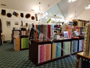 Pioneer Quilts: main shop view 2