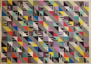 Ta Dots & Stripes Top finished
