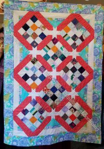 Cutting Corners Donation Quilt Finished!