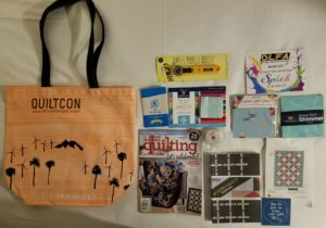 QuiltCon 2018 Goodie Bag