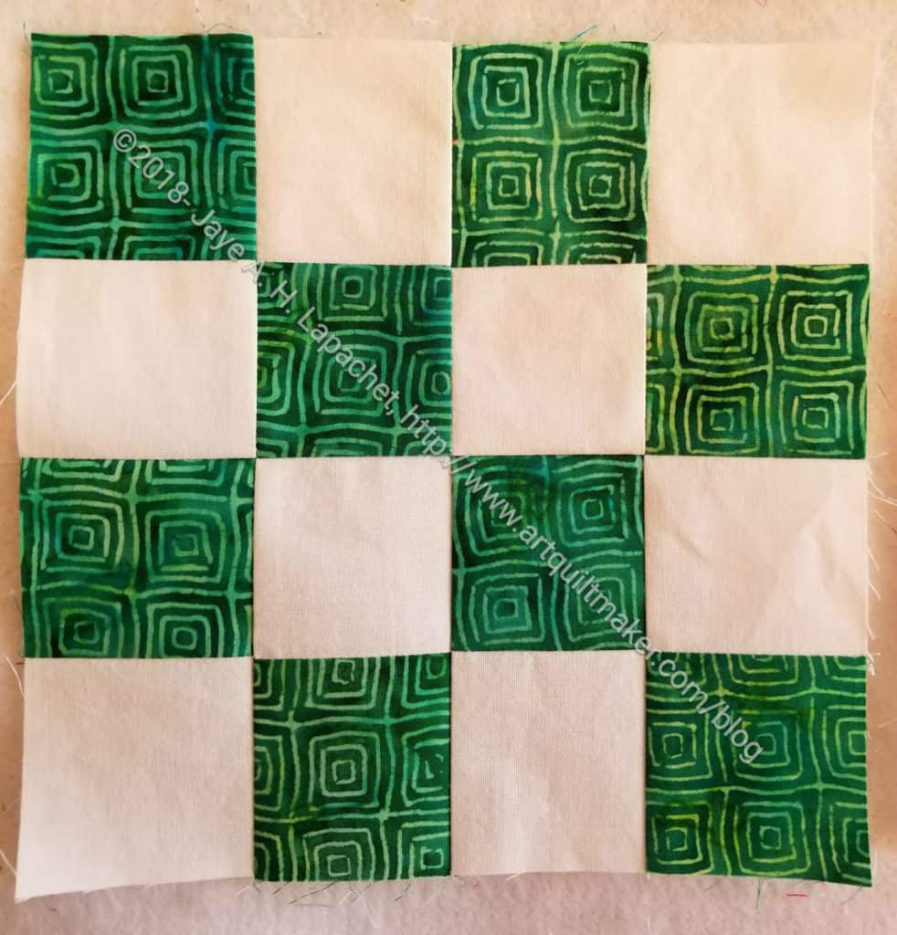 Green Batik Donation Block