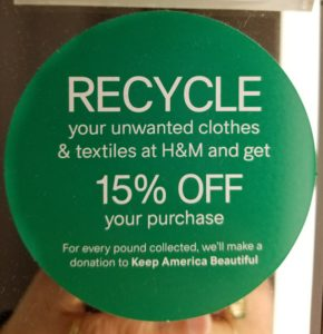H&M Recycling Program