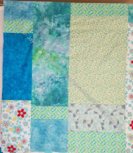 HRT donation quilt back