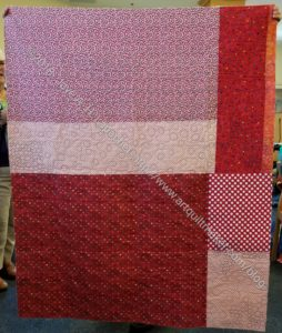 Ends n.2 donation quilt back