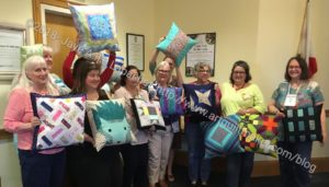 BAM Pillow Swap Recipients