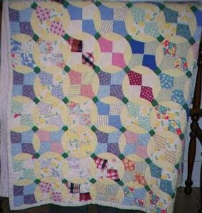Cross Block Quilt