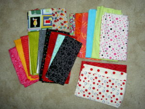 Petaluma Quilt Show Purchases