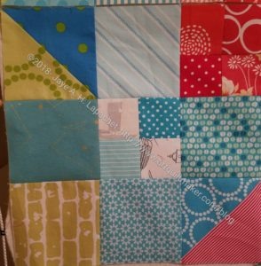 Stepping Stones Border Block - Right Side