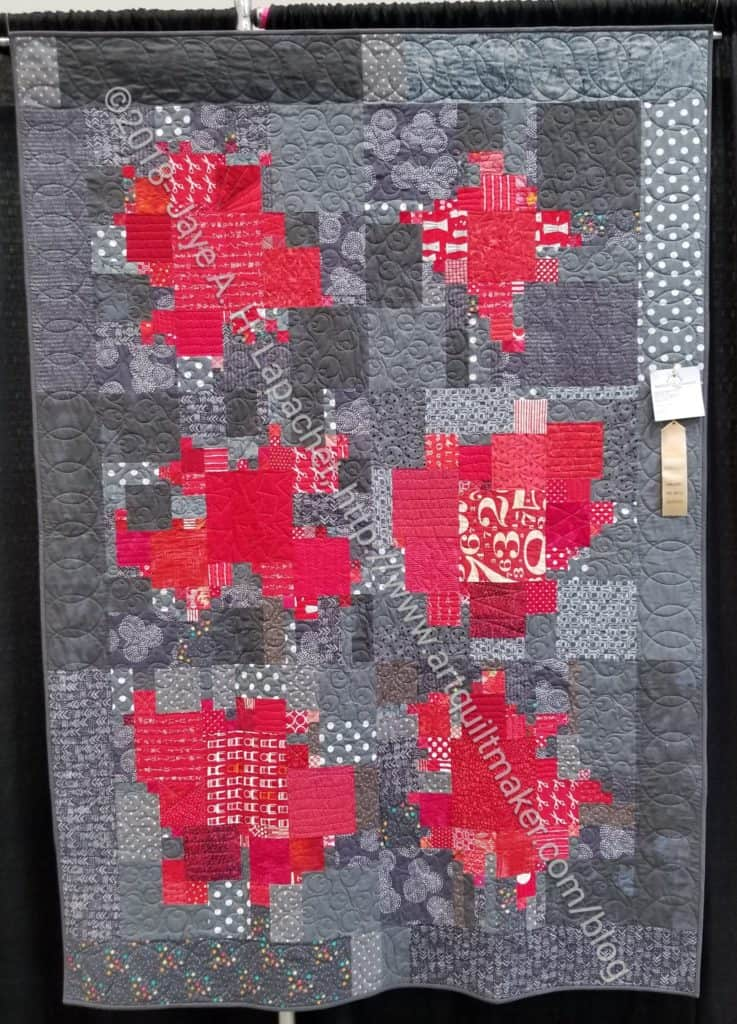 Planned Improv Quilt at the Fair