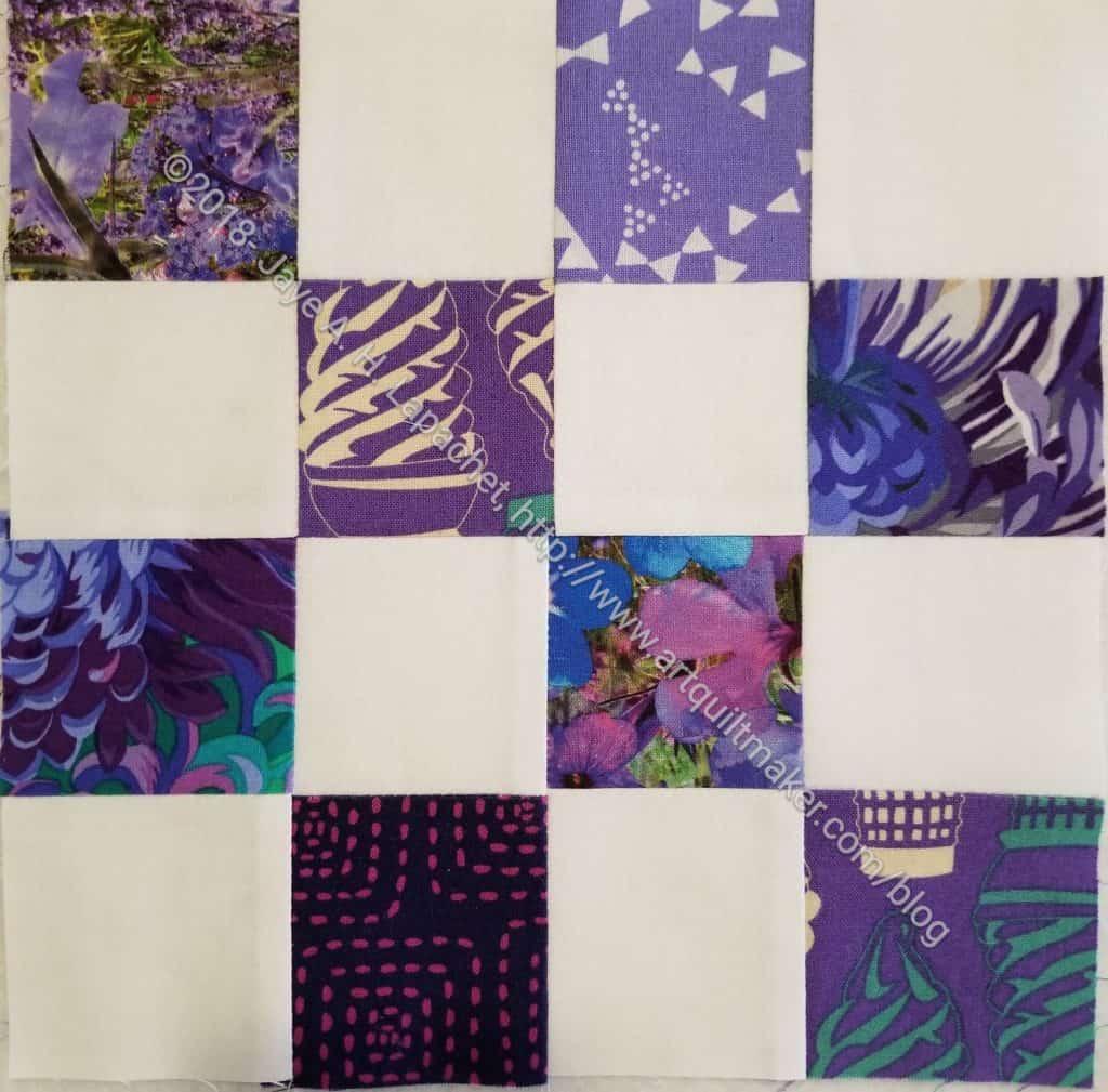 Various Purples#2 Donation Block