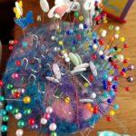 Pinchushion - wool felt (gift from A
