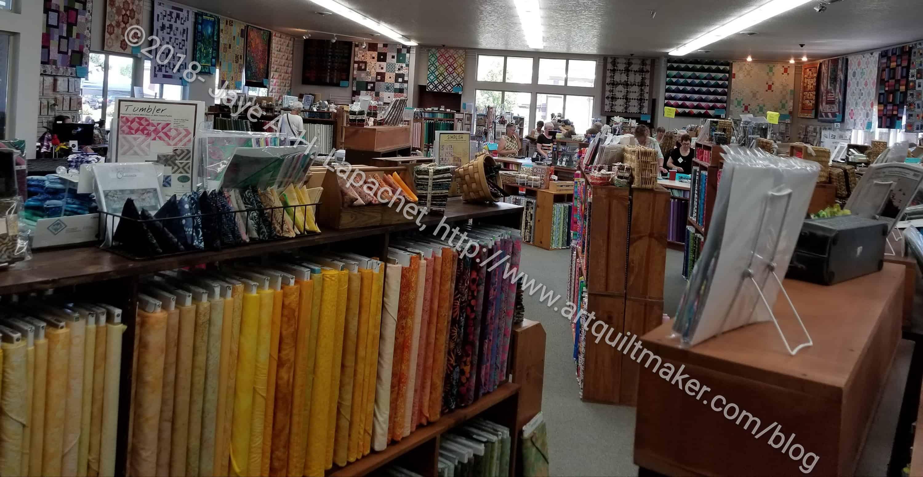 Bend Shop Hop Bj S Quilt Basket Artquiltmaker Blog