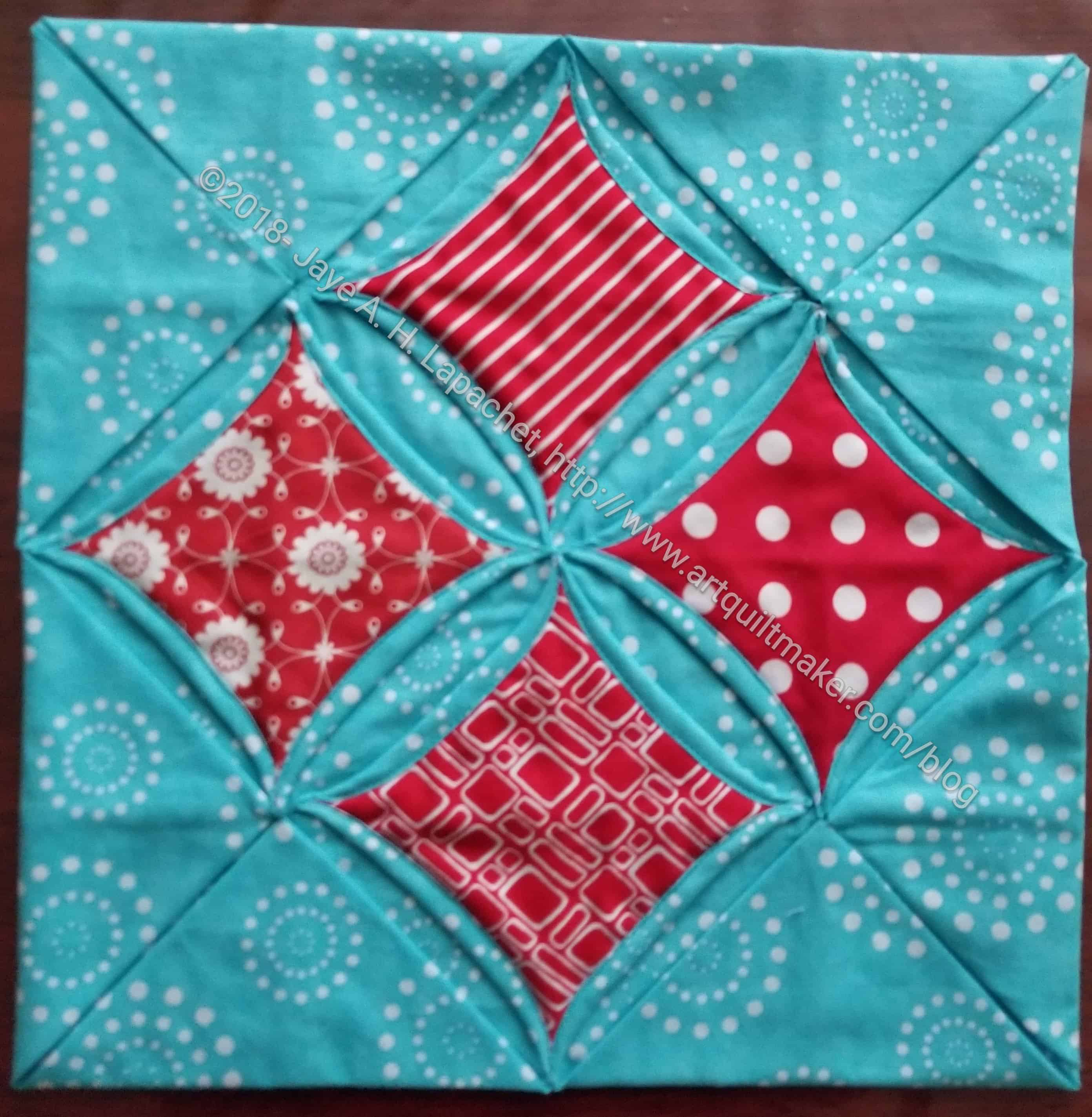 Frosted Windowpanes Quilt Pattern Pieced ME