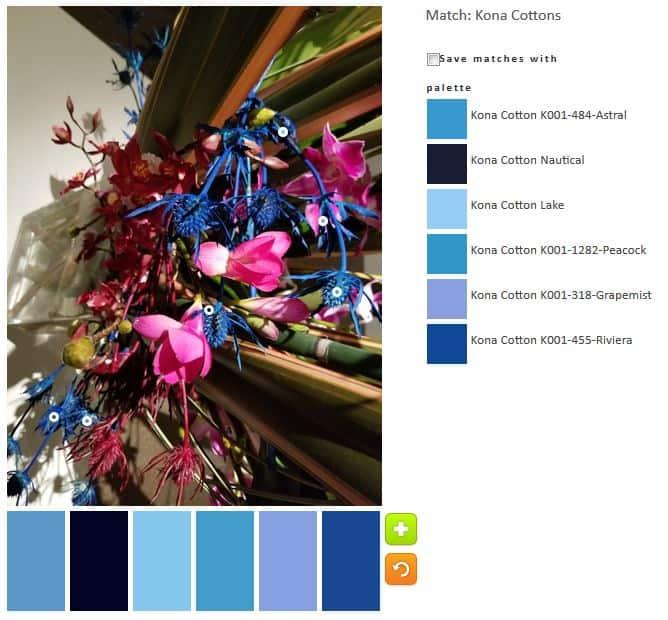 ColorPlay: DeYoung Flowers n.4