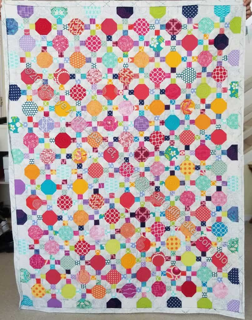 Octagon 9 Patch - ready for binding