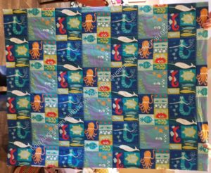 Sealife quilt-let
