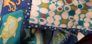 Sealife Quilt-let binding