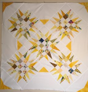 Mrs. K's Spiky 16 Patch Top