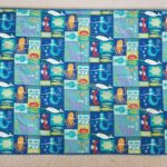 Finished: Sealife quilt-let