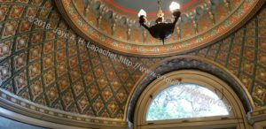 Pittock Mansion Turkish smoking room ceiling