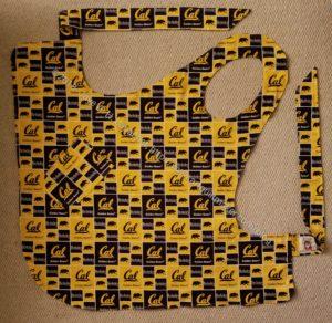Beth's apron - Cal side