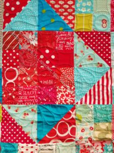 Stepping Stones n.2 quilted-detail