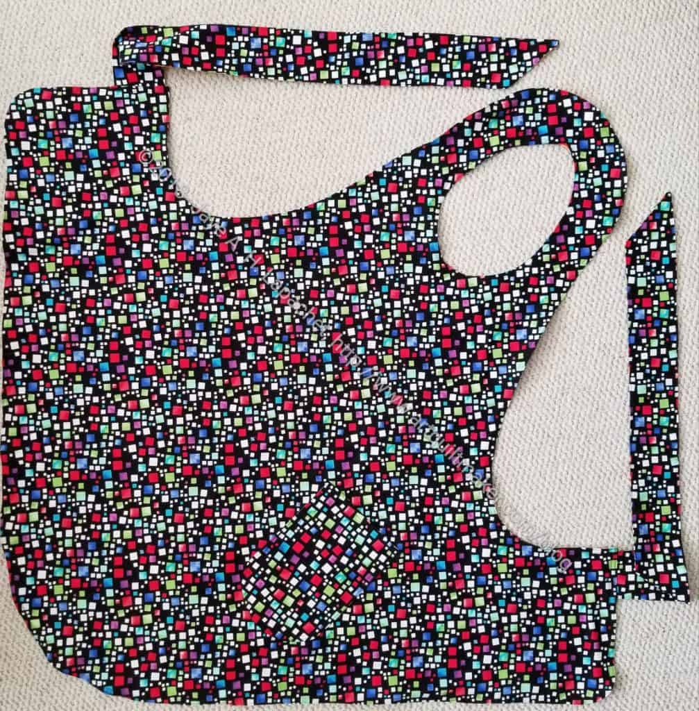 Dee's Apron, front - Christmas 2018