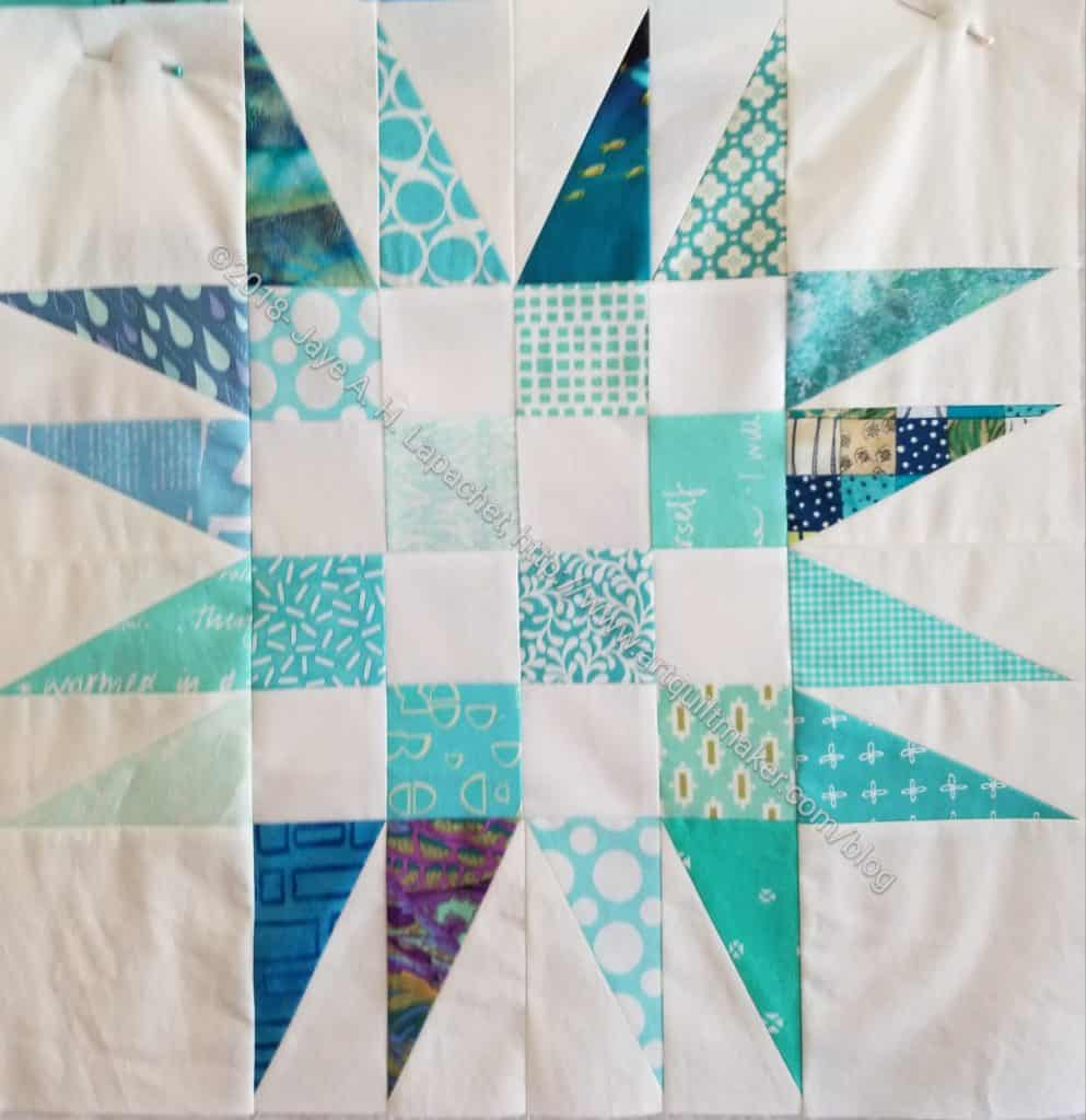 Spiky 16 Patch n.5 (quilt n.3)