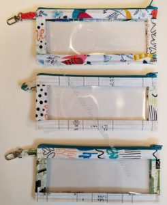 All Rolled Up Tote - pouches (front)