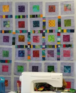 Lynette's batik squares
