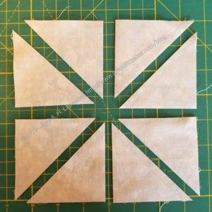 Cut diagonal lines